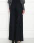 Широкие брюки из шерсти на резинке Aspesi  –  МодельВерхНиз1