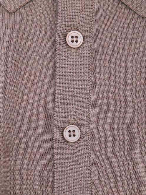 Джемпер из шелка и хлопка Kangra Cashmere - Деталь