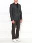Однобортный пиджак из шерсти Emporio Armani  –  Модель Общий вид