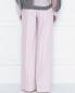 Широкие брюки из шерсти и кашемира Alberta Ferretti  –  МодельВерхНиз1
