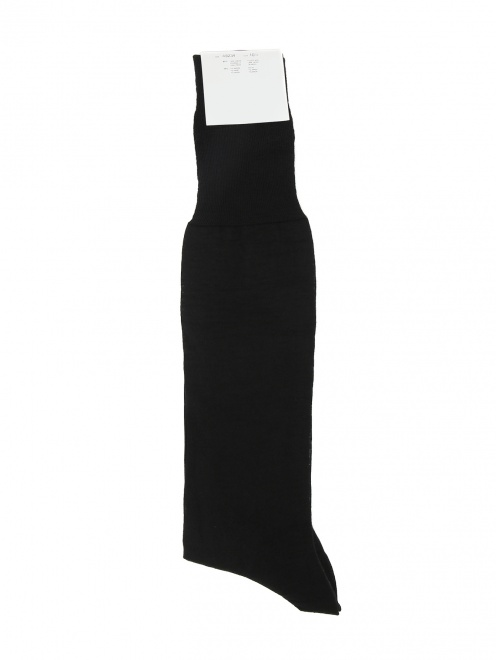 Носки высокие из тонкой шерсти NERO PERLA - Общий вид