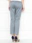 Укороченные брюки с узором Weekend Max Mara  –  МодельВерхНиз1