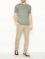 Джемпер из льна с короткими рукавами Viadeste  –  МодельОбщийВид