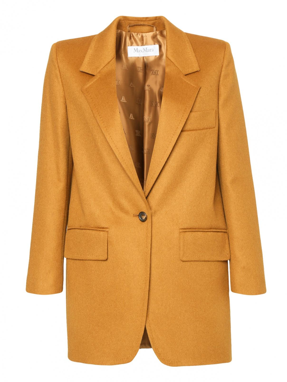 Жакет из шерсти с карманами Max Mara  –  Общий вид