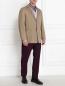 Пиджак однобортный из хлопка Jil Sander  –  Модель Общий вид