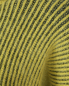 Укороченный джемпер из смешанной шерсти с контрастной вставкой Sportmax  –  Деталь1