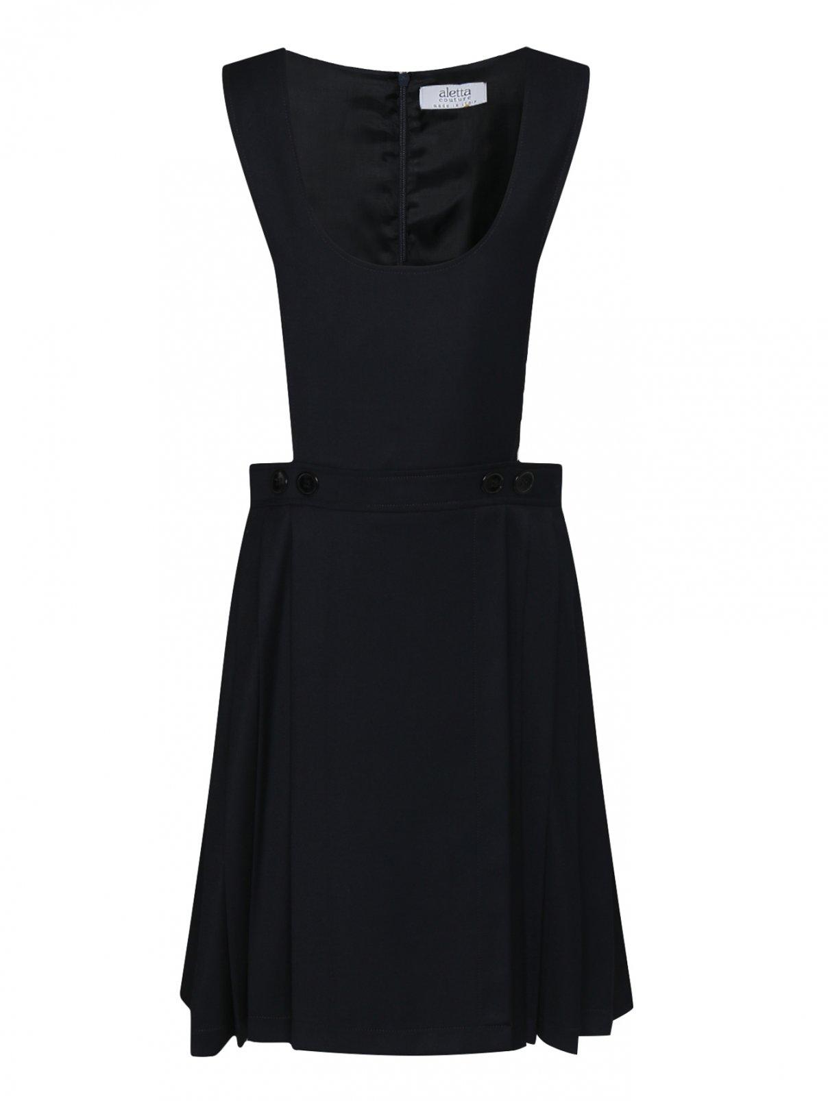 Платье - сарафан с плиссированной юбкой Aletta Couture  –  Общий вид