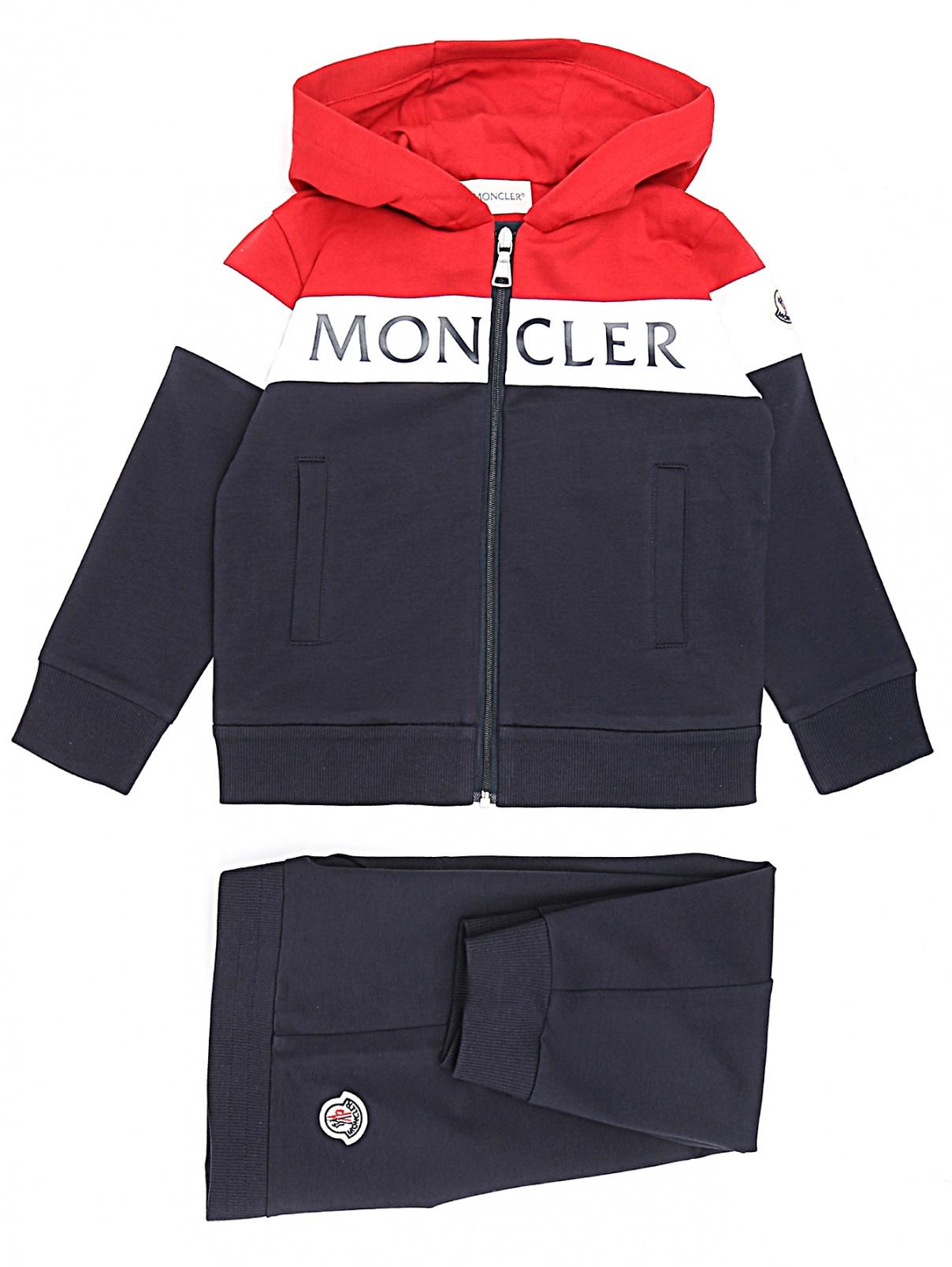 Спортивный костюм из хлопка Moncler  –  Общий вид