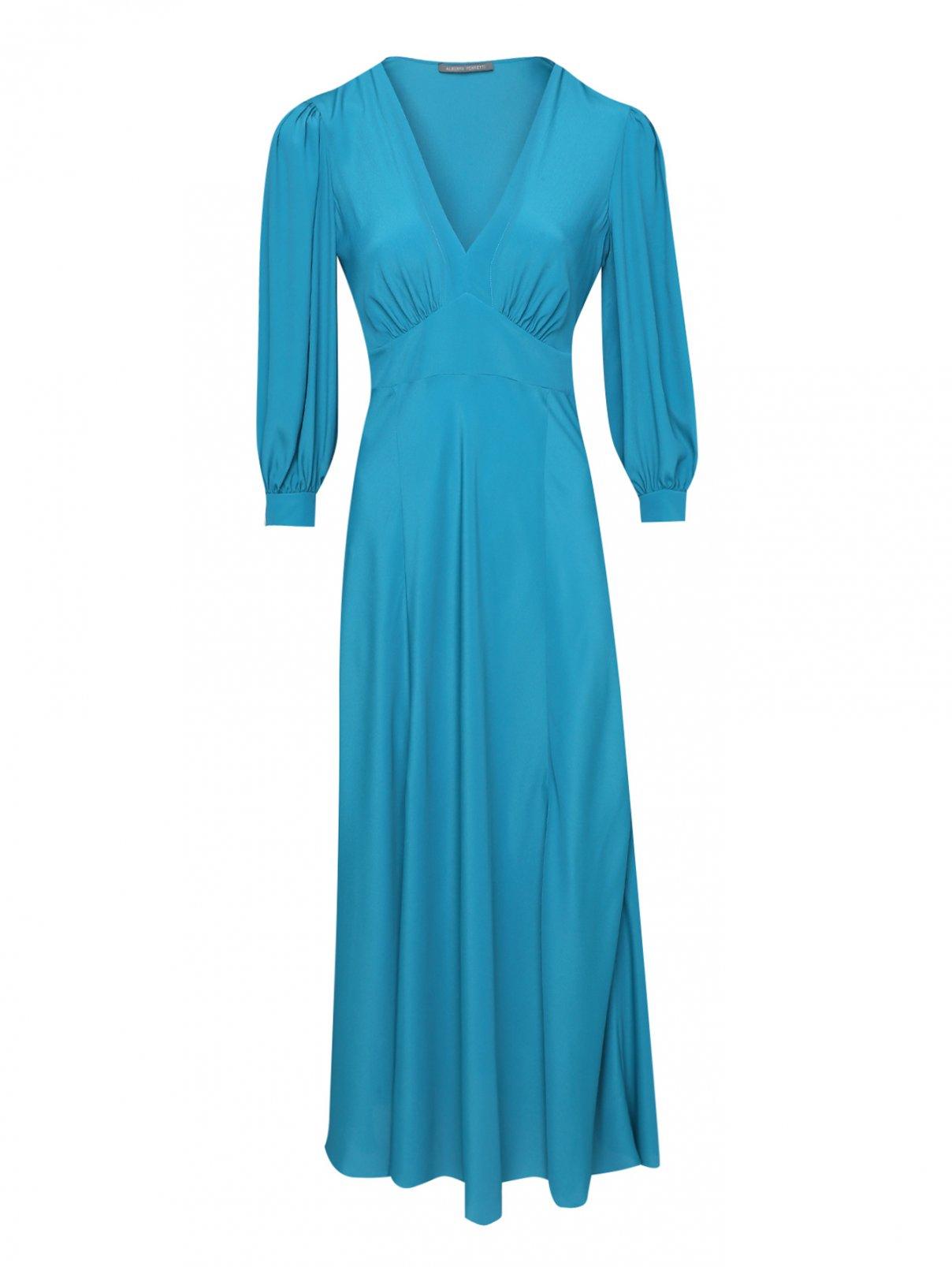 Платье из смешанного шелка Alberta Ferretti  –  Общий вид