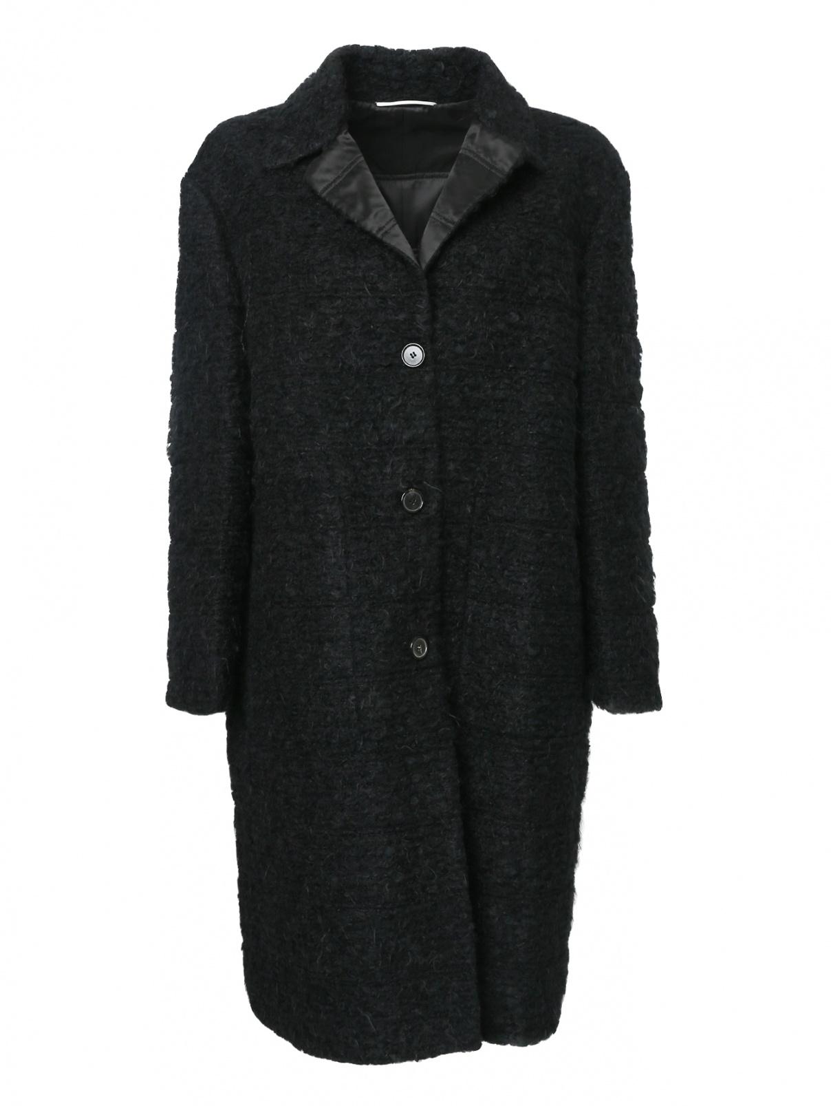 Пальто на пуговицах с карманами Rochas  –  Общий вид