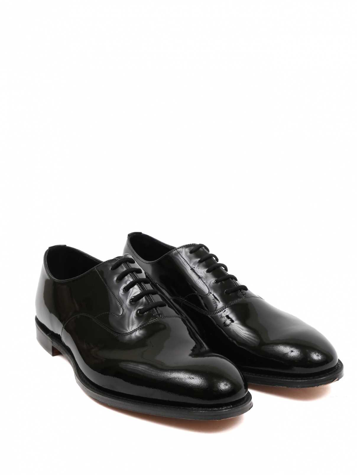 Туфли лаковые из кожи Brooks Brothers  –  Общий вид