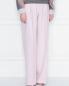Широкие брюки из шерсти и кашемира Alberta Ferretti  –  МодельВерхНиз