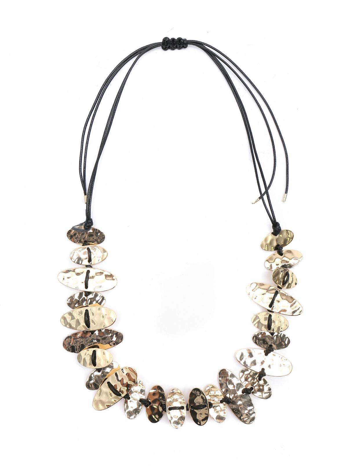 Ожерелье из золотого металла Persona by Marina Rinaldi  –  Общий вид