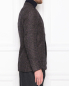Пиджак из шерсти и шелка с узором LARDINI  –  МодельВерхНиз2