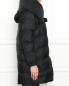 Утепленная куртка с капюшоном Max&Co  –  МодельВерхНиз2