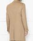 Пальто однобортное из шерсти Brooks Brothers  –  МодельВерхНиз1