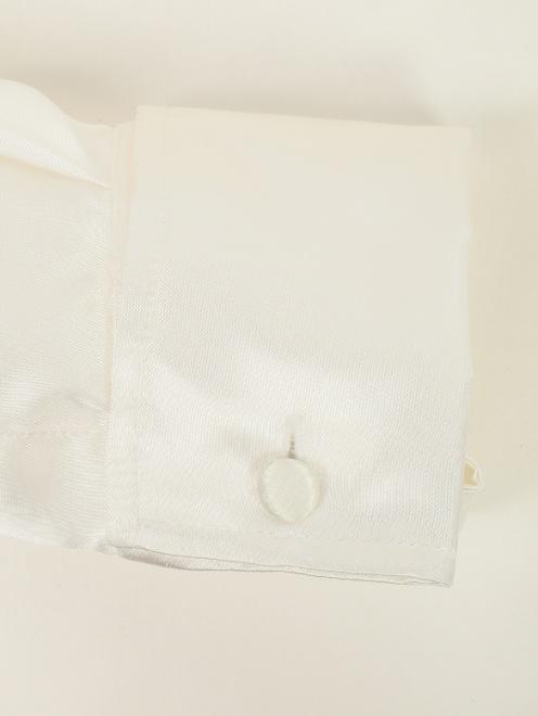 Блуза из вискозы с принтом MM6 - Деталь1