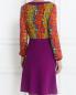 Платье-миди с кружевной отделкой Moschino Boutique  –  Модель Верх-Низ1