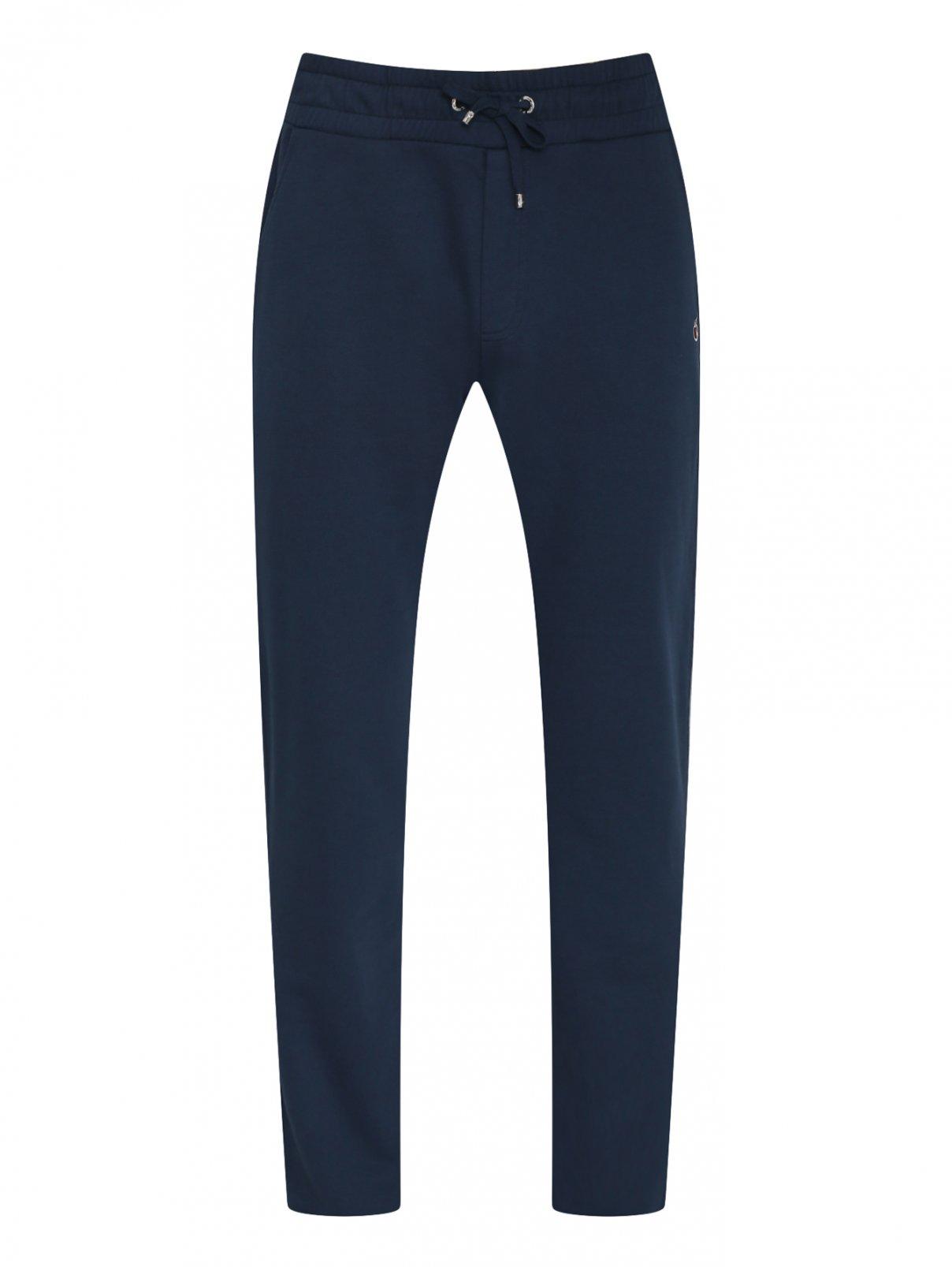 Трикотажные брюки из смесового хлопка  на резинке Bosco Fresh  –  Общий вид