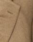 Пальто однобортное из шерсти Brooks Brothers  –  Деталь