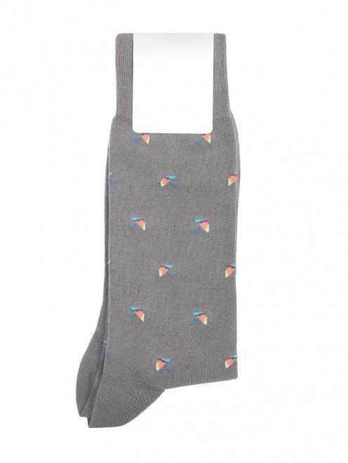 Носки из хлопка с узором Paul Smith - Общий вид