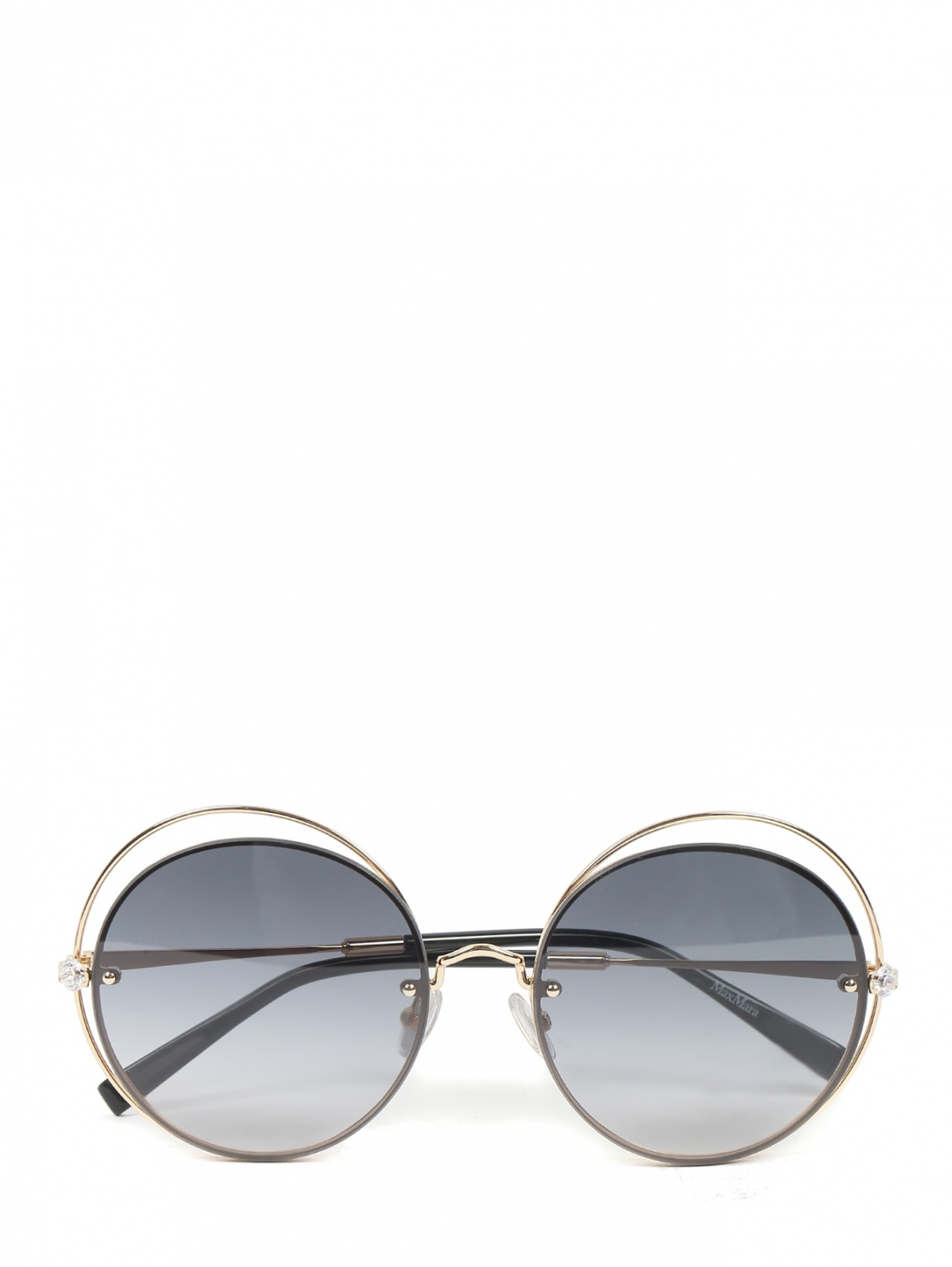 Очки солнцезащитные в круглой оправе Max Mara  –  Общий вид