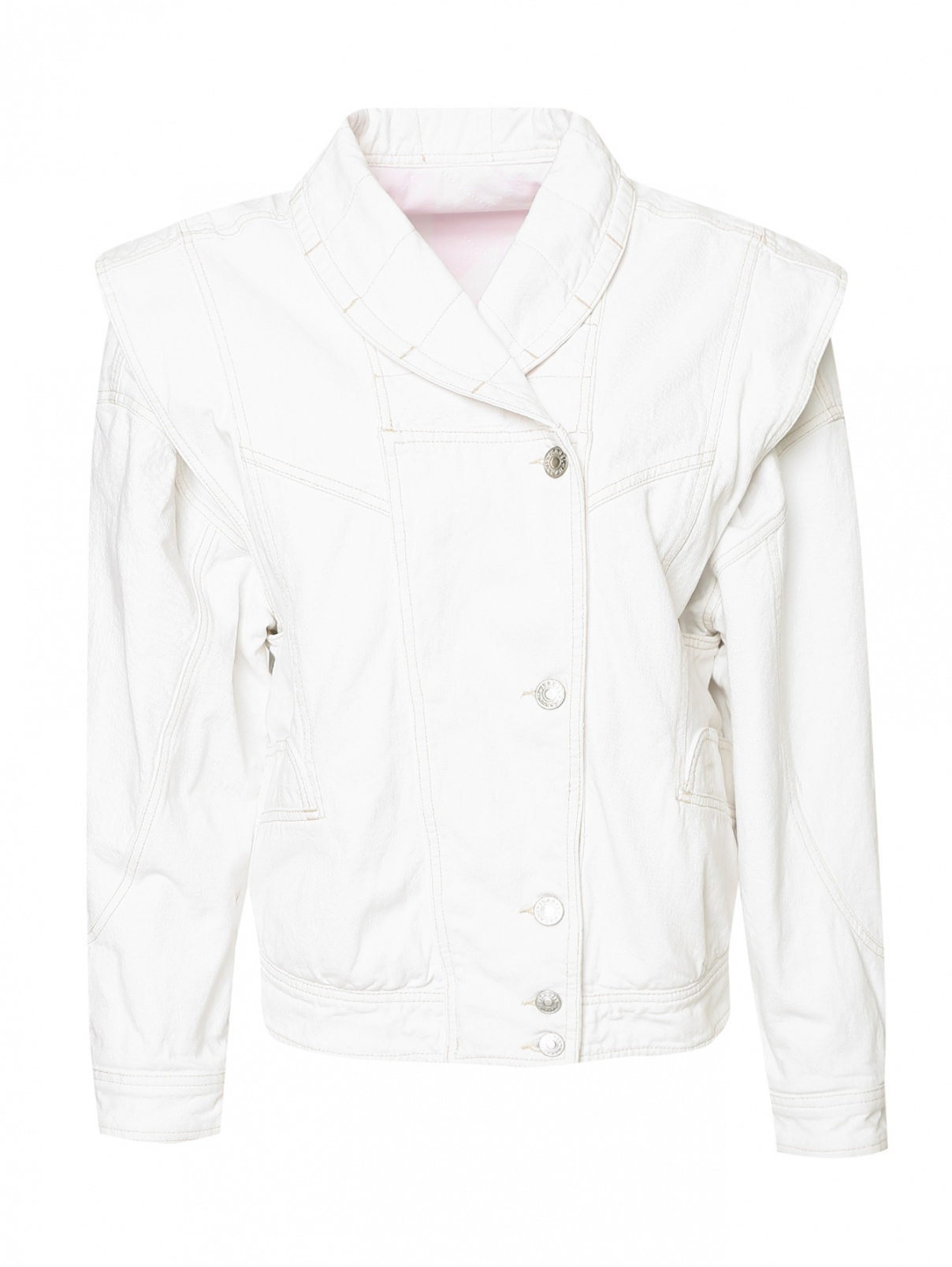 Куртка из денима на подкладе Isabel Marant  –  Общий вид