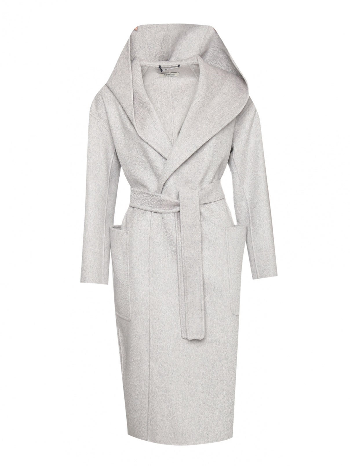 Пальто из шерсти и кашемира с капюшоном Max Mara  –  Общий вид
