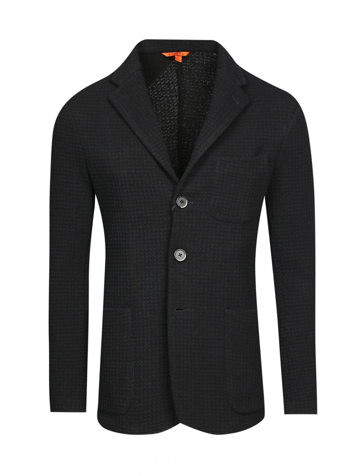 Пиджак однобортный из хлопка Barena  –  Общий вид