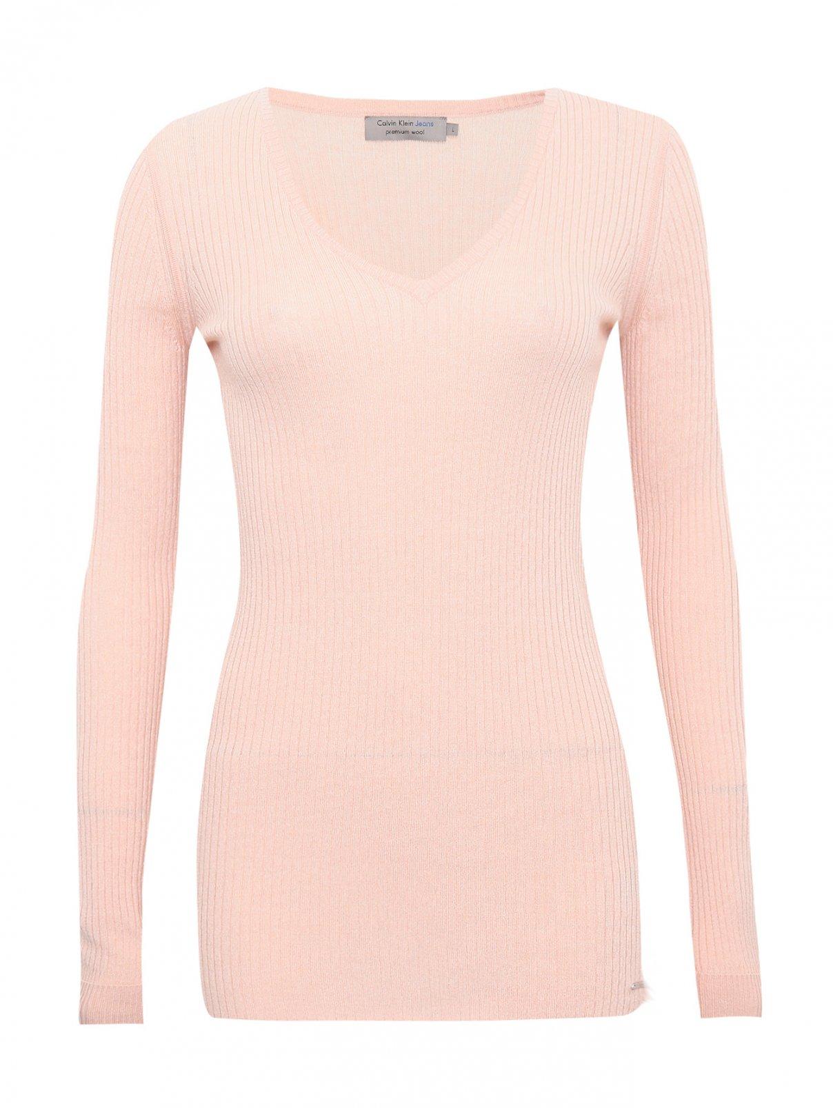 Джемпер из смесовой шерсти Calvin Klein  –  Общий вид