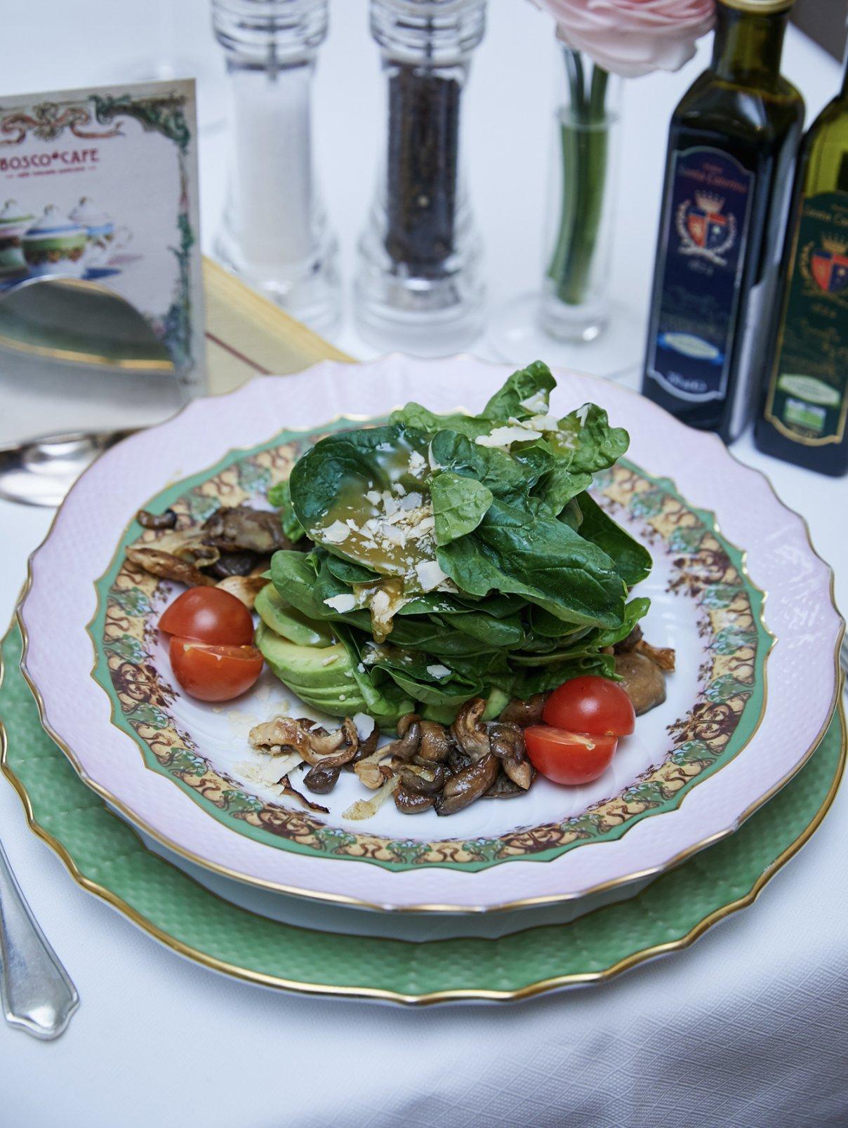 Салат «Альпийский» BoscoCafe  –  Общий вид