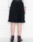Юбка плиссированная из смессовой шерсти Aletta Couture  –  МодельВерхНиз1