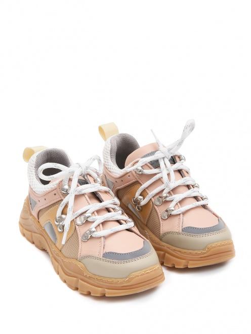 Кроссовки с цветными вставками Gallucci - Общий вид