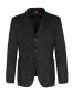 Пиджак из шерсти и льна с узором Barena  –  Общий вид
