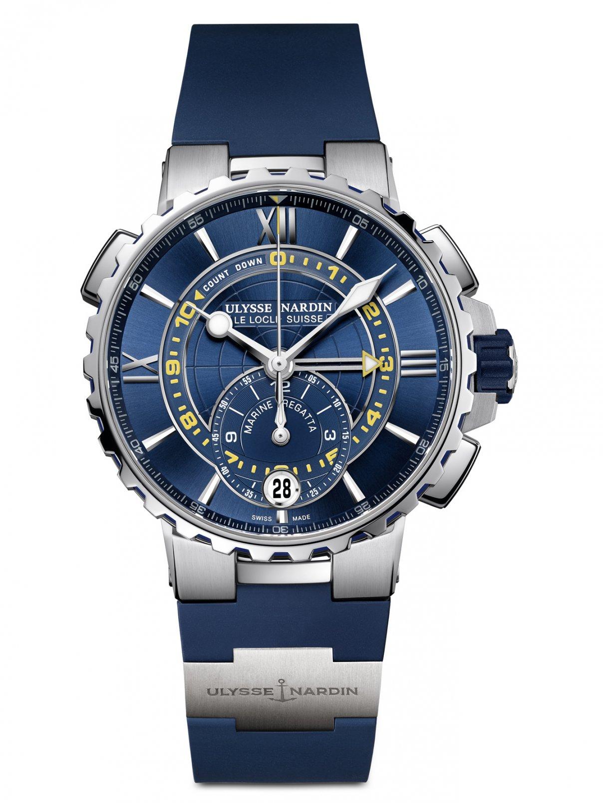 Часы 1553-155-3/43 Marine Regatta Ulysse Nardin  –  Общий вид