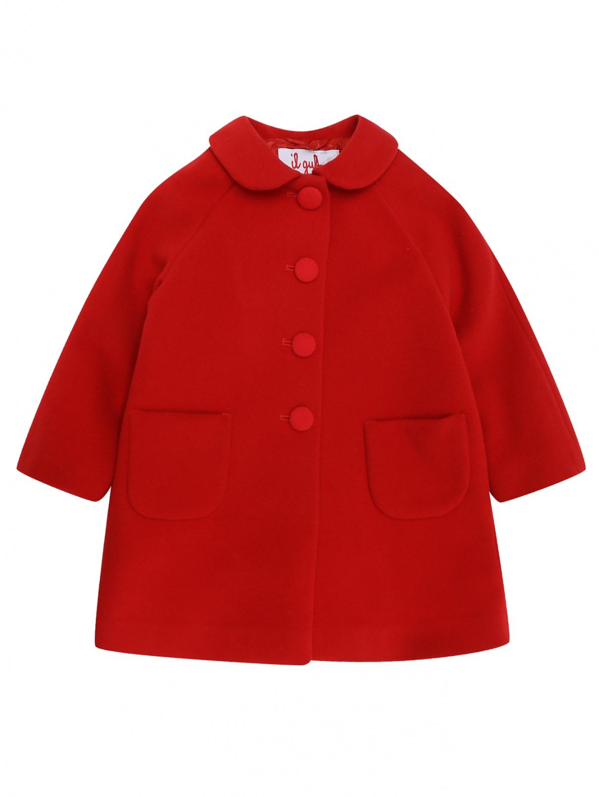 Пальто с карманами Il Gufo  –  Общий вид
