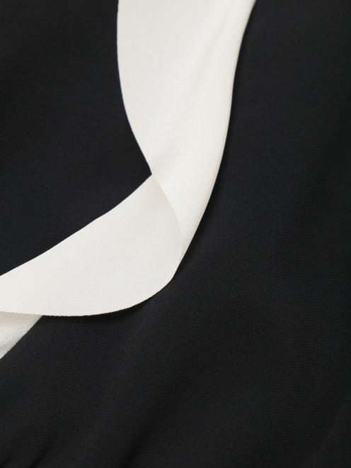 Платье-мини с контрастной отделкой Red Valentino - Деталь
