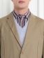 Пиджак однобортный из хлопка Jil Sander  –  Модель Общий вид1