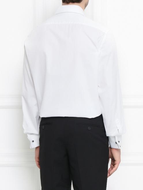 Сорочка под запонки из хлопка - Модель Верх-Низ1