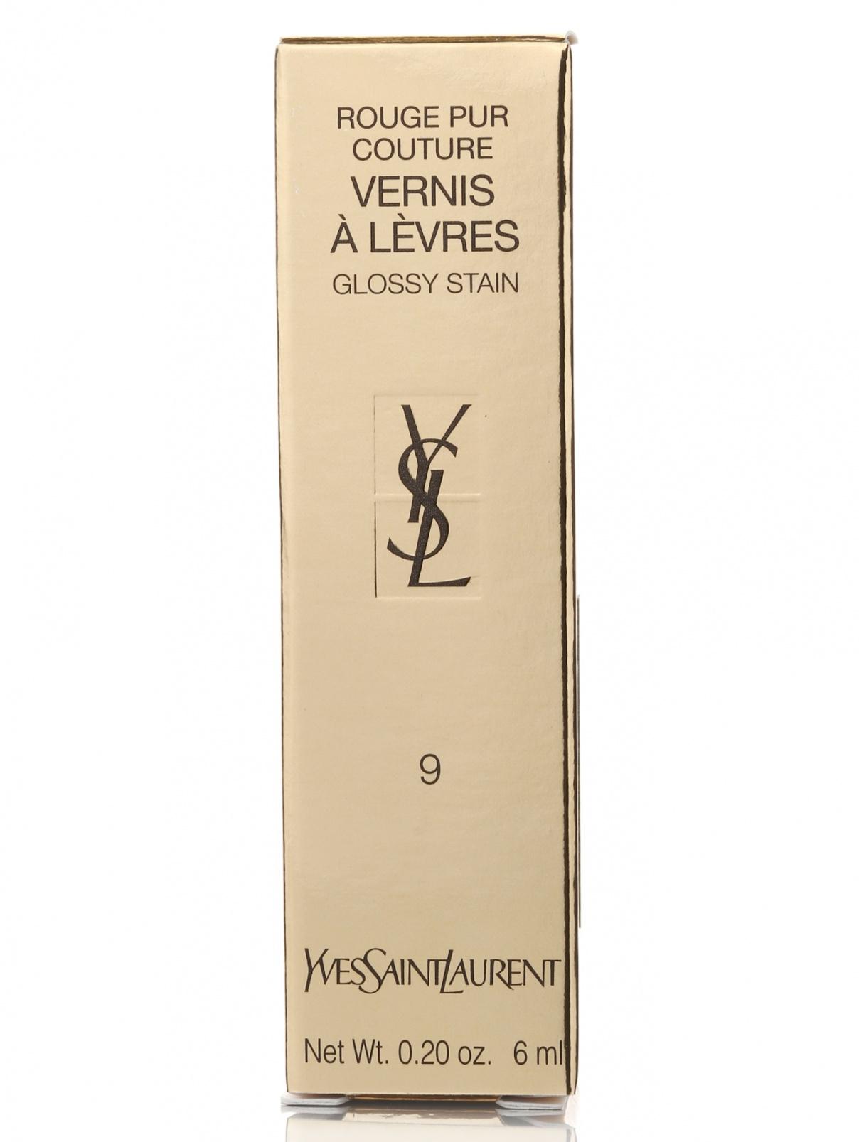 Лак для губ - №09, Vernis a Levres, 6ml YSL  –  Модель Общий вид