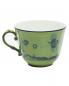 Чашка для кофе из фарфора с узором и окантовкой Richard Ginori 1735  –  Обтравка2