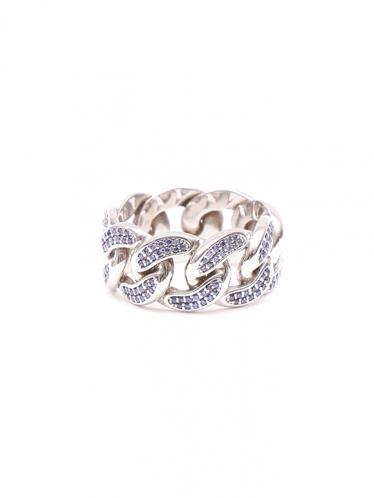 Кольцо из серебра с фианитами Asher Ney  –  Общий вид