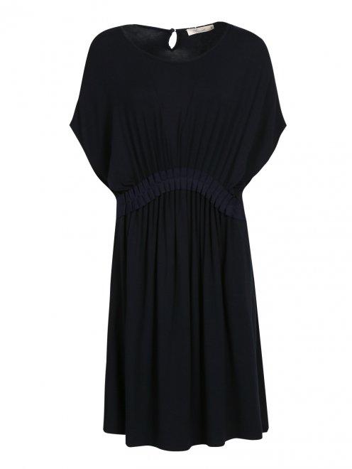 Платье со сборкой на талии - Общий вид