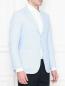 Пиджак из хлопка с накладными карманами Belvest  –  МодельВерхНиз