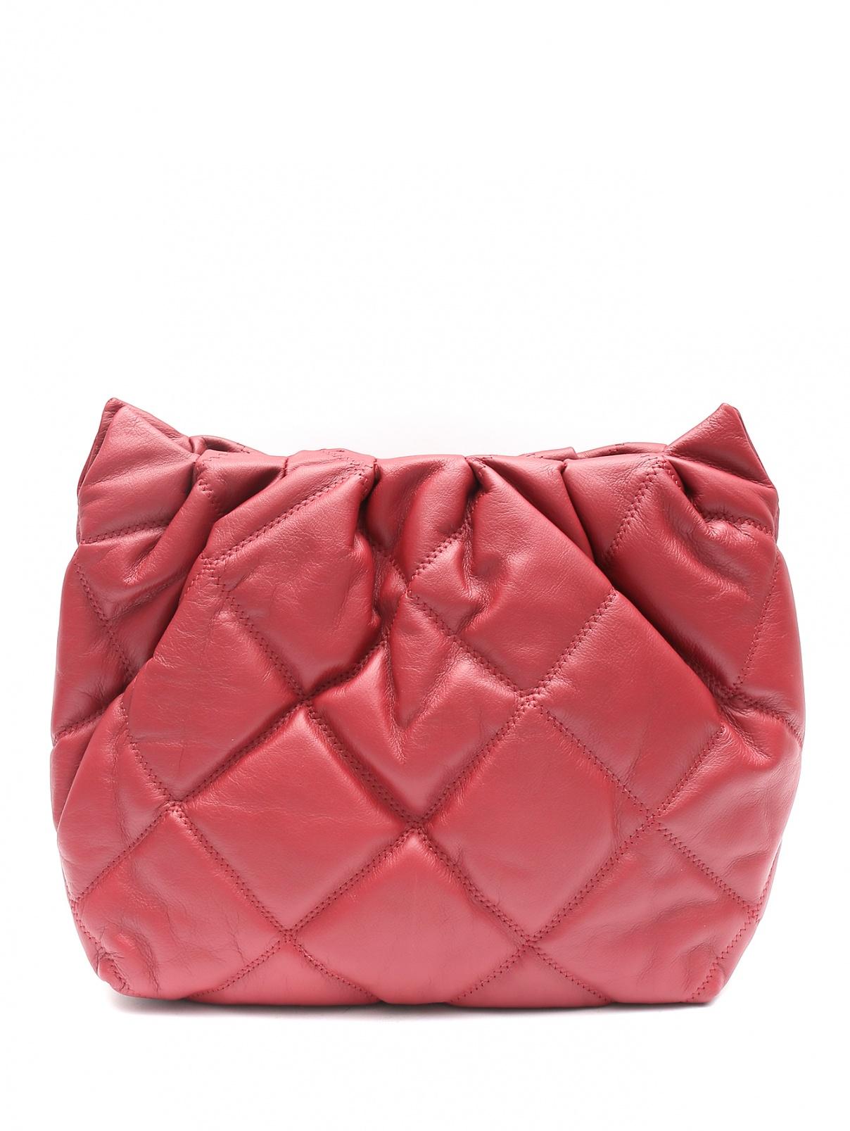 Стеганая сумка из кожи на цепочке Dorothee Schumacher  –  Общий вид