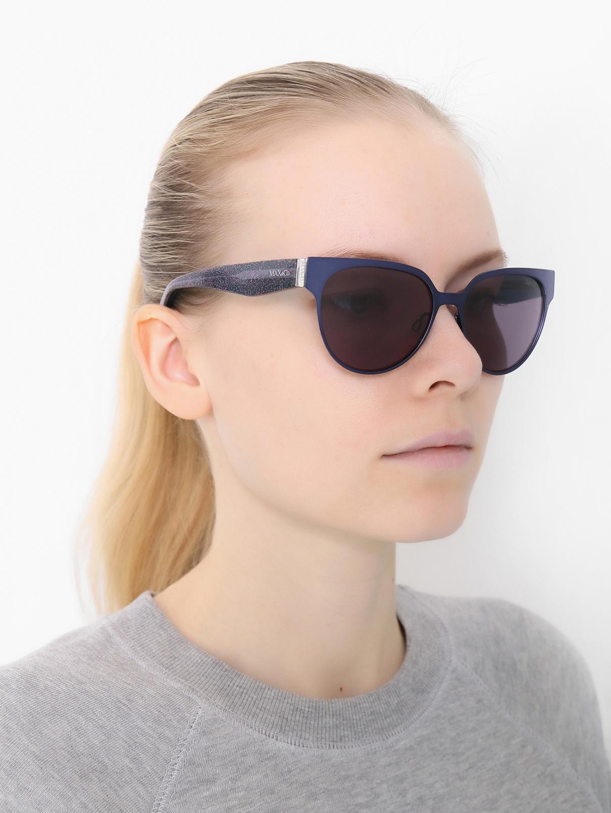 Солнцезащитные очки в оправе из пластика и металла Max&Co  –  Модель Общий вид