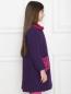 Пальто на пуговицах с накладными карманами Aletta  –  МодельВерхНиз2