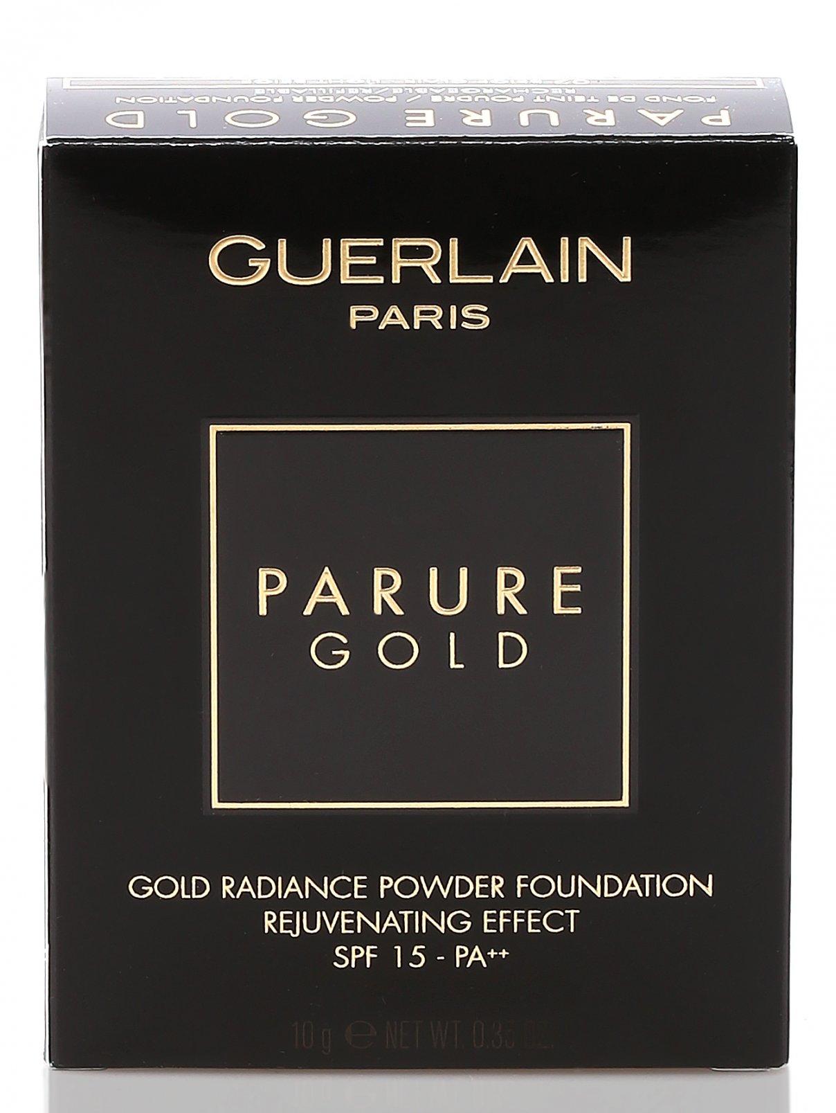 Тональная Пудра - №02 Светло-бежевый Parure Gold Guerlain  –  Модель Общий вид