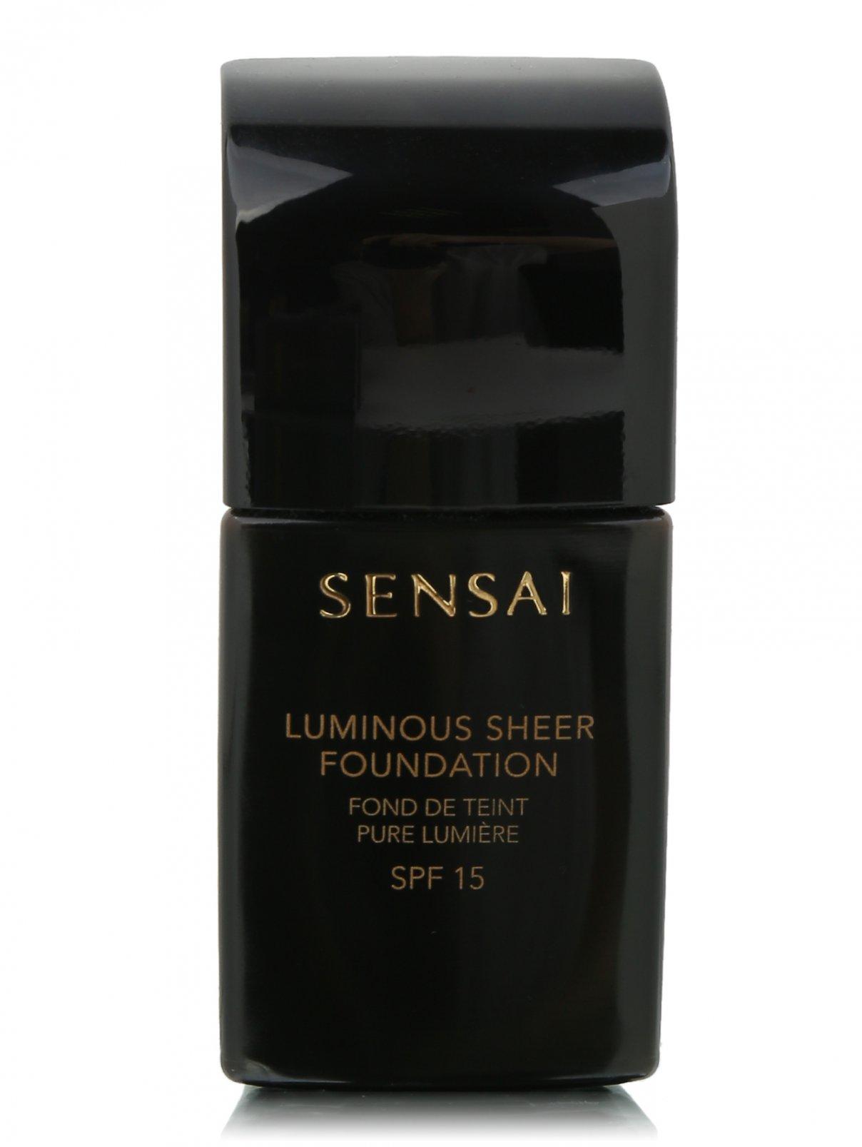 Тональная основа с эфф. сияния LS102 Luminous Sheer Found Sensai  –  Общий вид