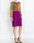 Платье-миди с кружевной отделкой Moschino Boutique  –  Модель Общий вид